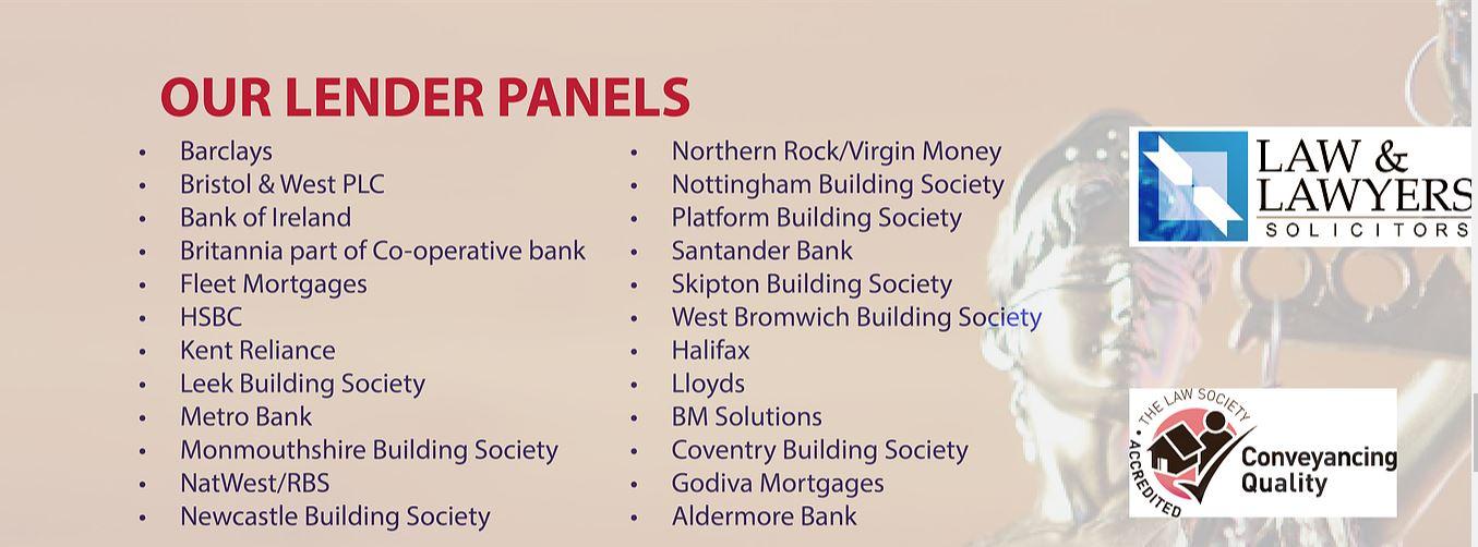 Lender Panel